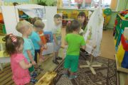 В рамках тематической недели в дошкольном учреждении прошли открытые мероприятия в старшей, подготовительной, II младшей и I младшей группах